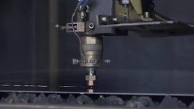 Folha de metal da solda do laser do CNC da elevada precisão, corte de alta velocidade, soldadura de laser, laser que corta a tecn video estoque