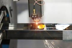 Folha de metal da soldadura do laser do CNC da elevada precisão Imagens de Stock