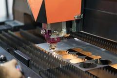 Folha de metal da soldadura do laser do CNC da elevada precisão Imagens de Stock Royalty Free