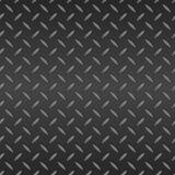 Folha de metal de Diamond Plated Seamless. Vetor Fotos de Stock Royalty Free