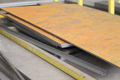 Folha de metal oxidada Imagem de Stock