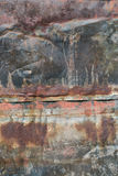 Folha de metal oxidada Imagens de Stock
