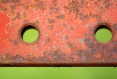 Folha de metal oxidada Fotos de Stock Royalty Free