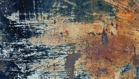 Folha de metal oxidada velha Foto de Stock