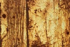 Folha de metal oxidada velha Fotos de Stock Royalty Free