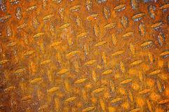 Folha de metal oxidada velha Fotografia de Stock