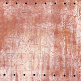 Folha de metal oxidada velha corroída fotografia de stock royalty free