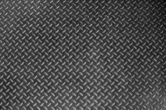 Folha de metal suja e usada de aço da placa do verificador pode ser o uso como o fundo ou a textura fotografia de stock royalty free