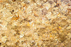 Folha de ouro Foto de Stock