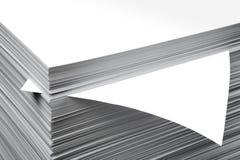 Folha de papel fotos de stock royalty free