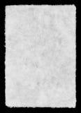 Folha de papel branca Foto de Stock Royalty Free