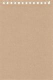 Folha de papel de um caderno ilustração do vetor