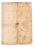 A folha de papel falded gasta usada manchou a textura de papel Imagem de Stock Royalty Free