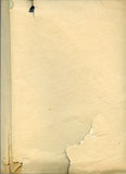 Folha de papel velha imagens de stock