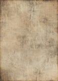 Folha de papel velha Fotos de Stock