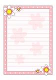 Folha decorada Fotografia de Stock