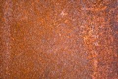 Folha do ferro com oxidação Imagens de Stock Royalty Free