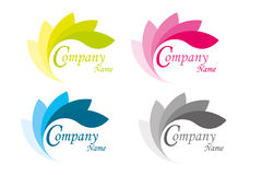 Folha do logotipo Fotos de Stock