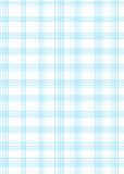 Folha do papel de gráfico A4 ilustração do vetor