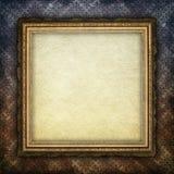 Folha do papel vazio na moldura para retrato Imagens de Stock Royalty Free
