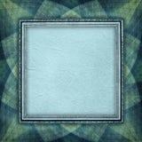 Folha do papel vazio na moldura para retrato Imagens de Stock