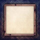 Folha do papel vazio na moldura para retrato Fotografia de Stock Royalty Free