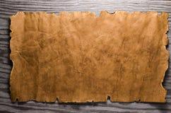 Folha do papel velho Fotografia de Stock