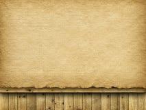 Folha e pranchas do papel feito a mão Fotografia de Stock Royalty Free