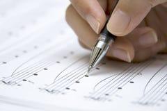 Folha musical Fotos de Stock Royalty Free