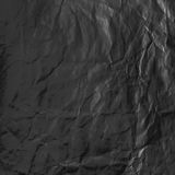 Folha preta de papel Fotografia de Stock