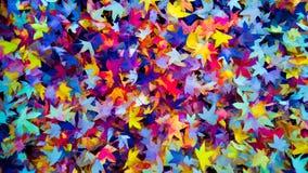 Folhas coloridas do fundo do outono do outono, cores da queda Imagem de Stock
