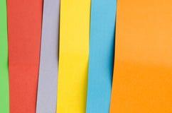 Folhas coloridas do papel da cor, fundo abstrato foto de stock royalty free