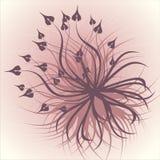 Folhas crescentes gráficas ilustração royalty free