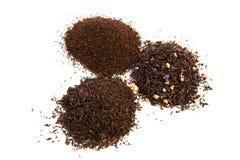 Folhas de chá imagem de stock