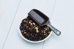 Folhas de chá fracas Fotografia de Stock Royalty Free
