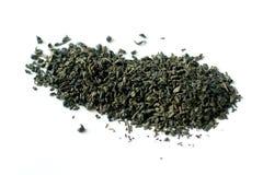 Folhas de chá secas isoladas Fotografia de Stock Royalty Free