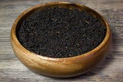 Folhas de chá secas para o chá preto Imagem de Stock Royalty Free