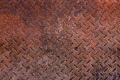 Folhas de metal oxidadas Fotografia de Stock Royalty Free