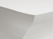 Folhas de papel Imagem de Stock