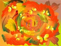 Folhas de roda Foto de Stock