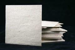 Folhas de uma almofada de nota Fotos de Stock