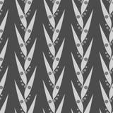 Folhas do cinza Imagens de Stock Royalty Free