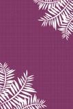 Folhas do coco ilustração do vetor