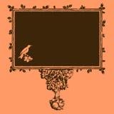 Folhas do frame da árvore de Eco Imagens de Stock