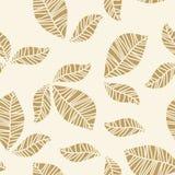 Folhas do ouro Ilustração Stock