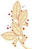 Folhas do ramo ilustração royalty free