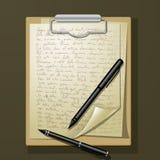 Folhas múltiplas do Livro Branco Fotografia de Stock