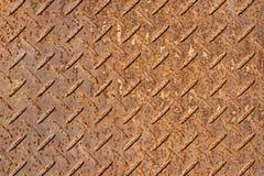 Folhas oxidadas do ferro Imagem de Stock