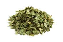Folhas secadas e desbastadas do aipo Fotos de Stock