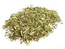 Folhas secas do companheiro do yerba Imagem de Stock
